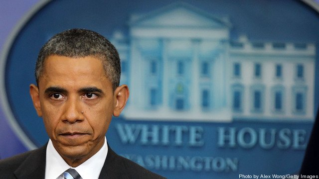 Obama Holds News Conference On Debt Ceiling Talks At White House
