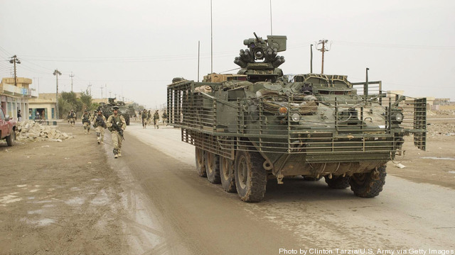 FILE PHOTO: U.S. Military Deals With Humvee Vulnerability