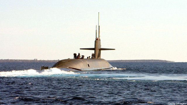 Navy Tests Converted Guided Missile Sub