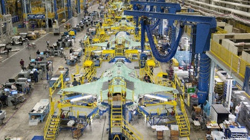 F-35 stealth fighter factory