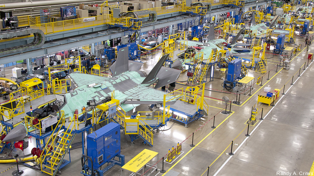 November 23, 2011 F-35 assembly area bi-monthly photo shoot for
