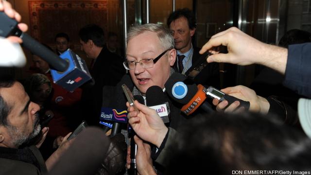 Sergei Ryabkov, a Russian deputy foreign