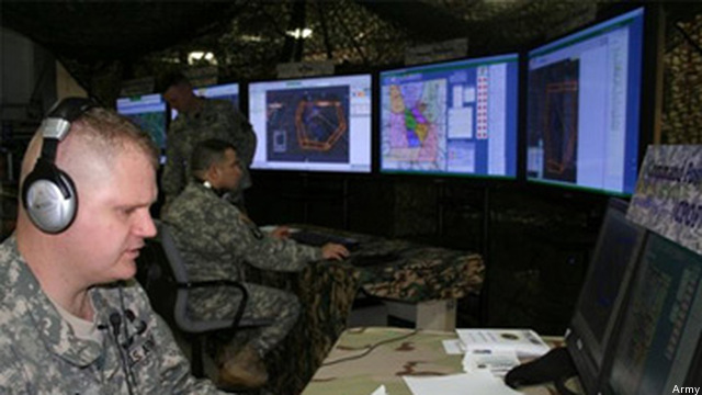 US Army cybersecurity personnel