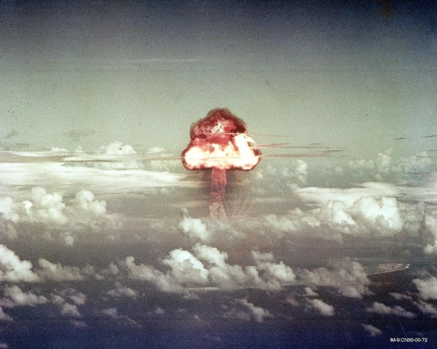 """Ivy King"" nuclear test,, 1952. Courtesy Los Alamos National Laboratory."