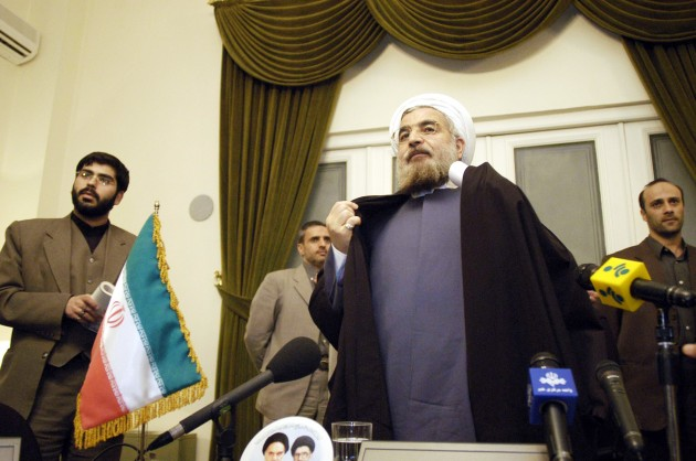 New Iranian president Hassan Rowhani