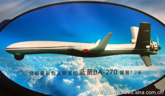 Chinese UAV image