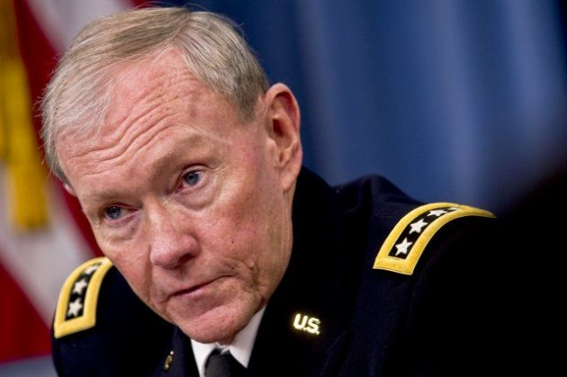 Army. Gen. Martin Dempsey, Chairman of the Joint Chiefs of Staff.