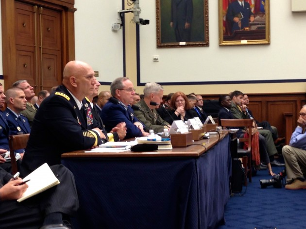 Joint Chiefs at HASC 1 MTW