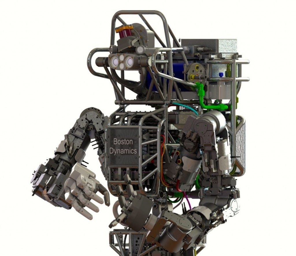 DARPA robot