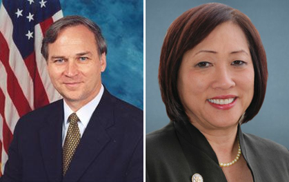 Representatives Randy Forbes and Colleen Hanabusa