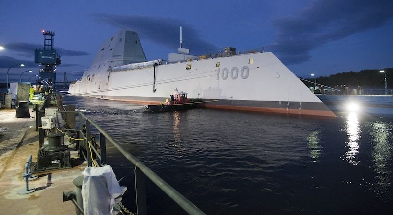 Global Federation National News Network! - Page 2 USS-Zumwalt-in-water1