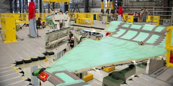 F-35 Wing Assembly Cameri Italy