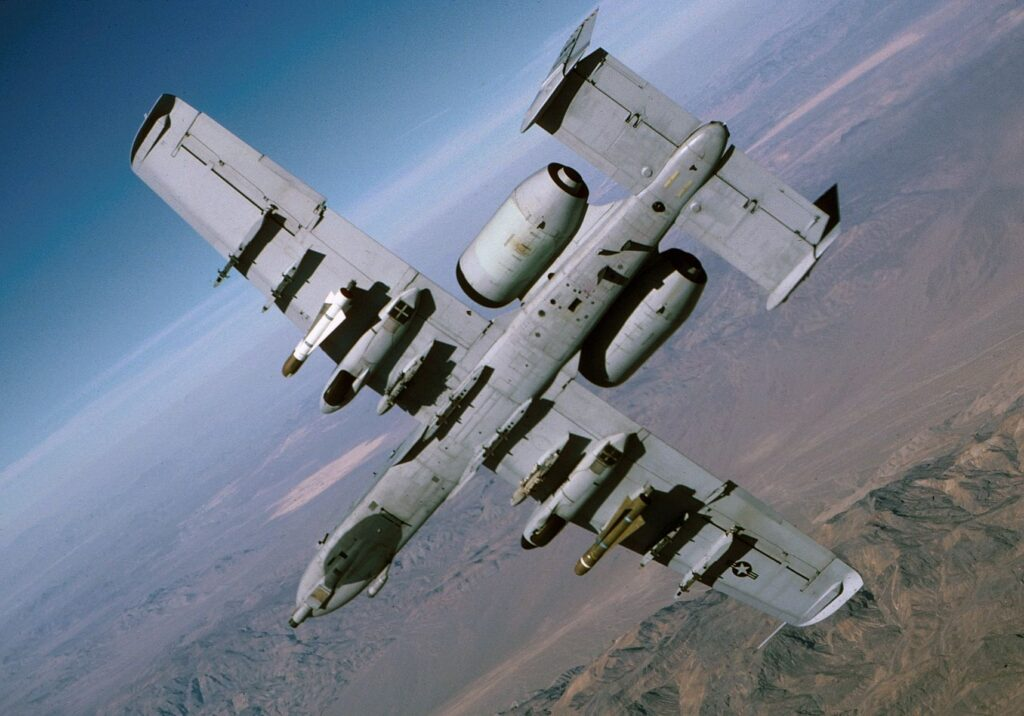 A-10 from below