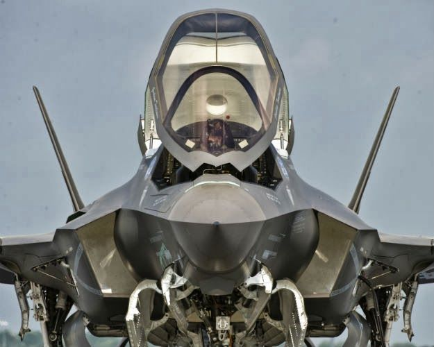 F-35 A-1 front end shot