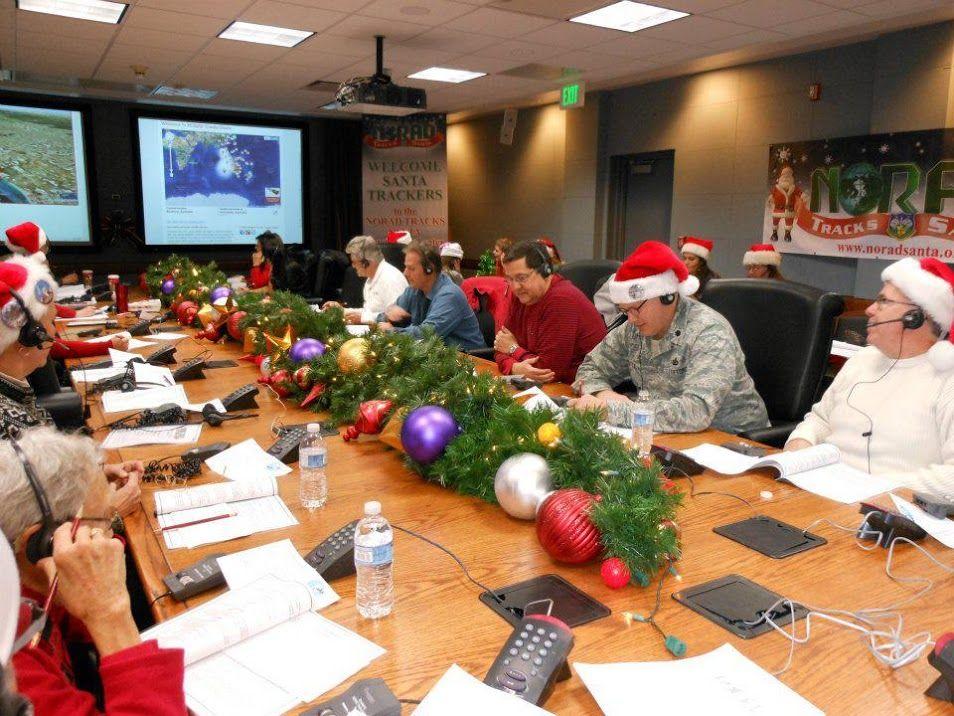 NORAD Santa trackers