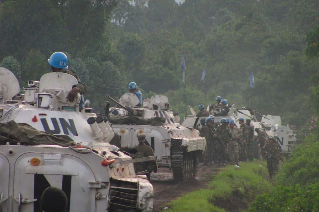 UN peacekeepers in Democratic Republic of the Congo