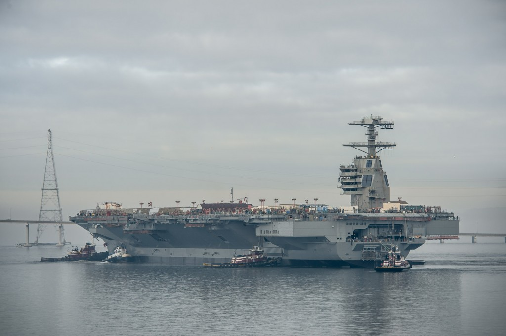 Gerald R. Ford (CVN78) Photo by Chris Oxley