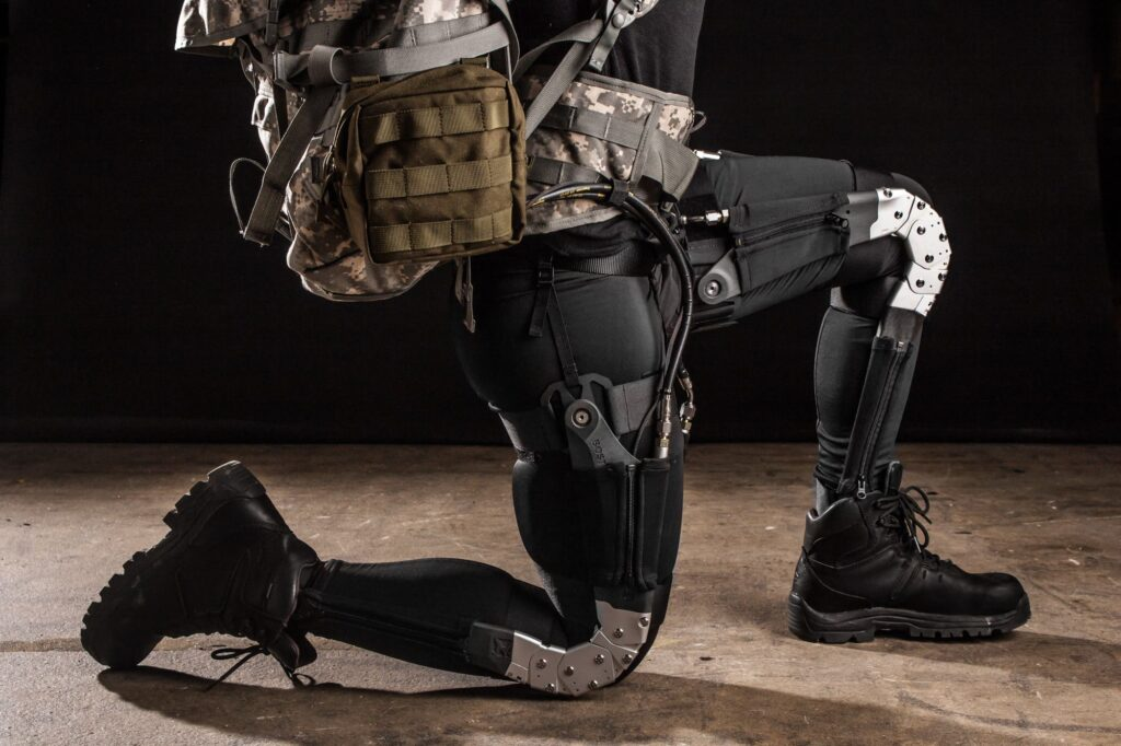 DARPA body suit Warrior Web