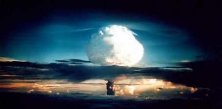 First thermonuclear bomb test