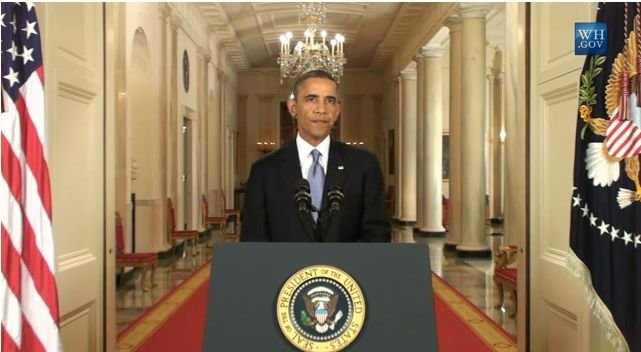 Obama speaks at WH on Syrian chemical weapons