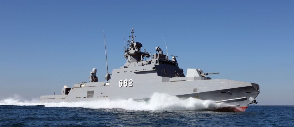 Fast Missile Craft FMC for Egypt