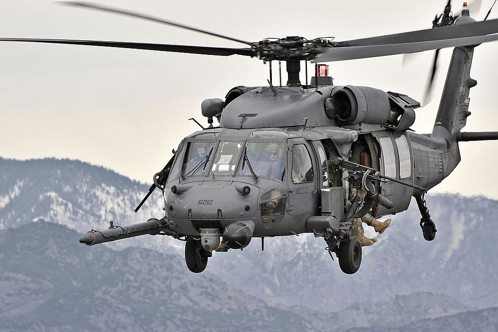 HH-60 Pave Hawk in Afghanistan