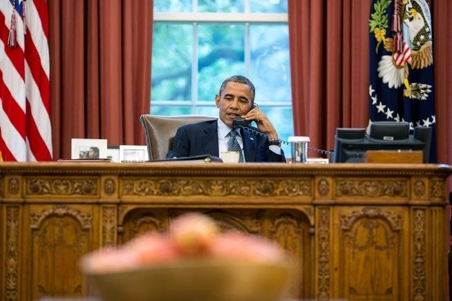Presdient Obama calls Vladimir Putin