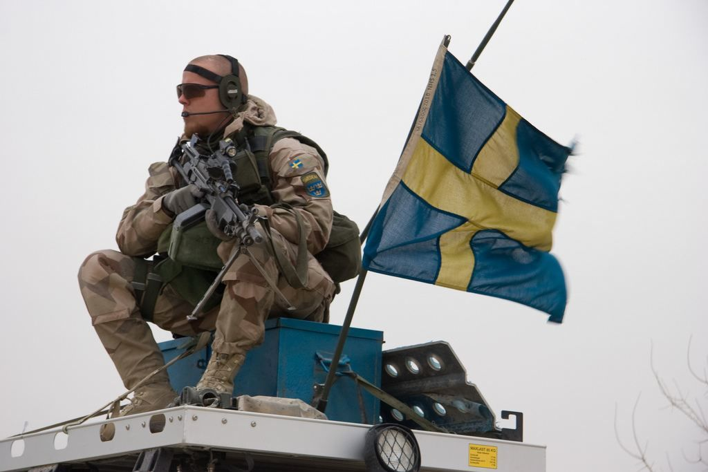 swedish soldier in afghanistan