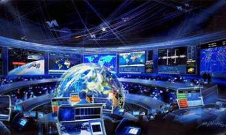 Joint Space Operations Center artists conception
