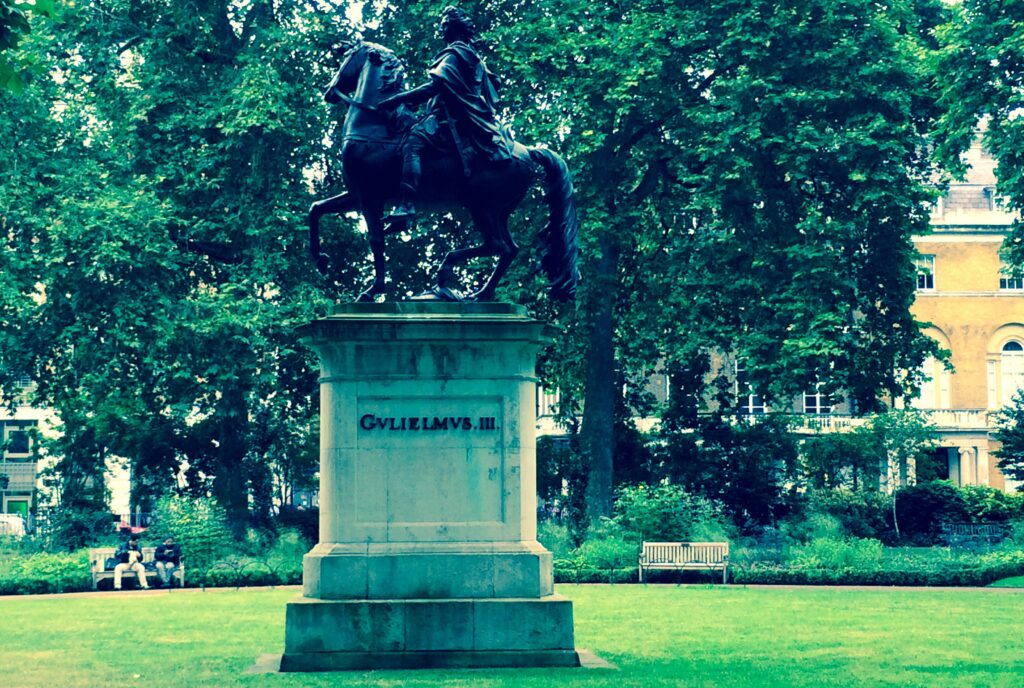 William III statue in St. James's Square