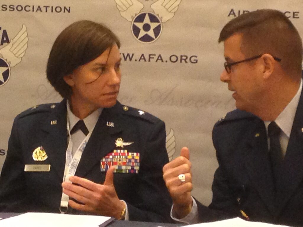 General Sarah Zabel @ AFA 2014