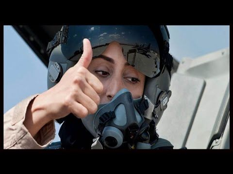 UAE F-16 Fighter PIlot Maj. Mariam Al Mansouri led ISIL ztrikes