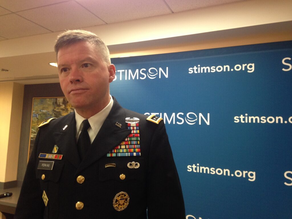 Gen. David Perkins, TRADOC commander.