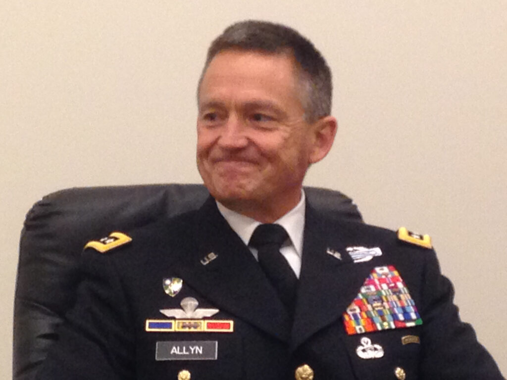 Gen. Daniel Allyn, Army Vice-Chief of Staff