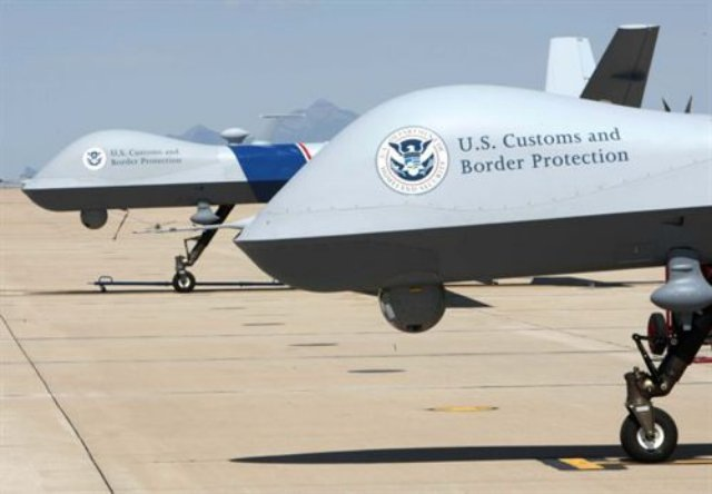 Customs and Border Patrol drones