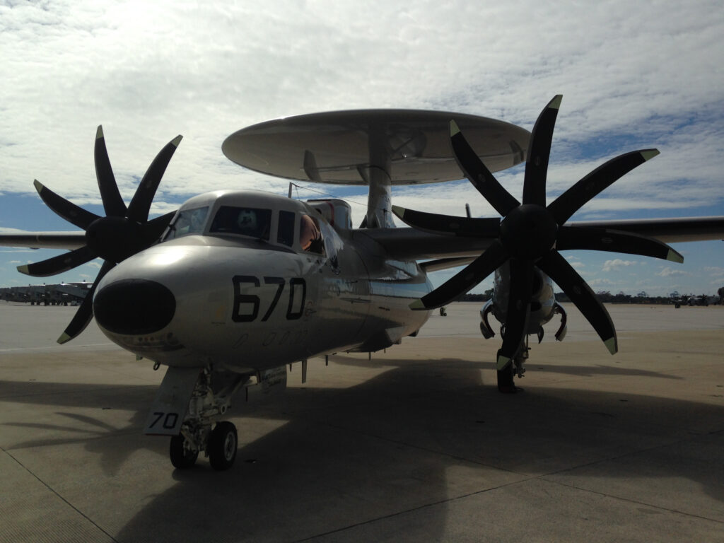 Navy E-2D Advanced Hawkeye