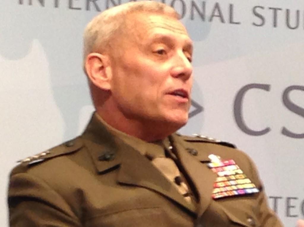 Gen. John Paxton, USMC