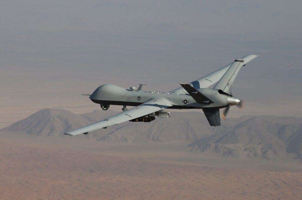 Reaper MQ-9 in flight
