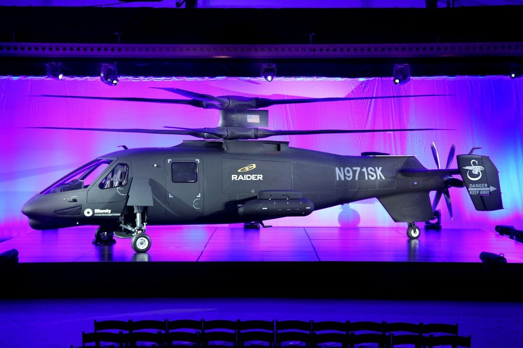 Sikorsky Unveils S 97 Raider Road To Fvl 171 Breaking