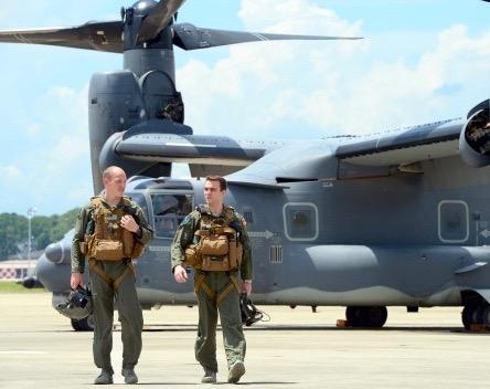 MacKay Trophy For AFSOC Osprey Crews: A Tale Of Bullet Riddled Planes