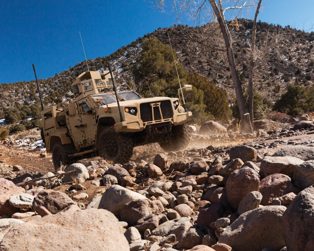 Oshkosh's offering for JLTV