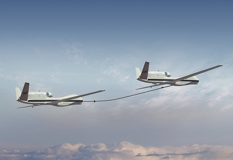 DARPA KQ-X Global Hawk refueling