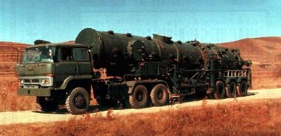 DF-21 Chinese mobile missile