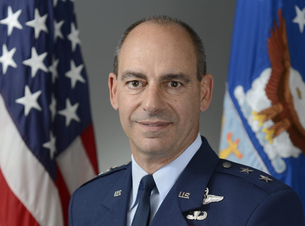 MGen Jeffrey L. Harrigian Bio Photo