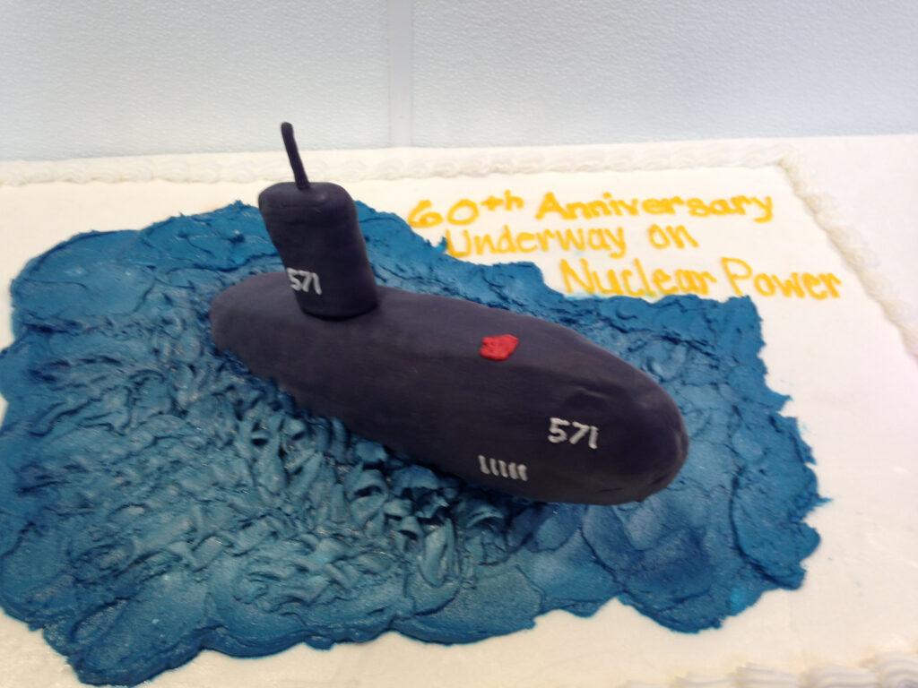 USS Nautilus 60th anniversary cake IMG_1217