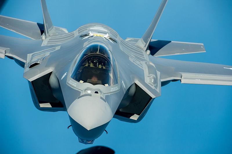 F-35A head on