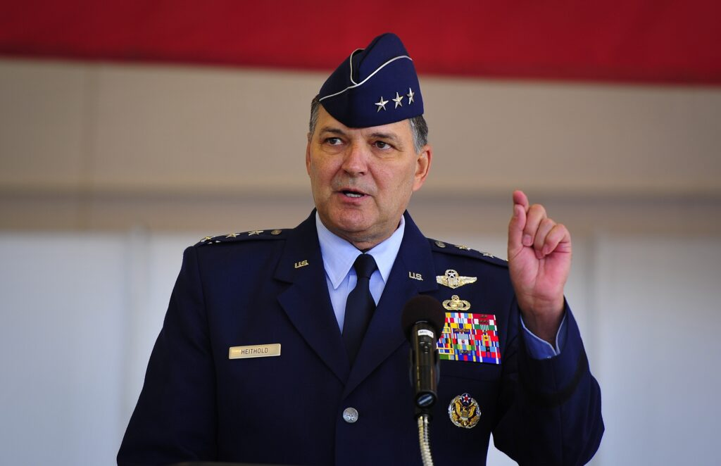 Lt. Gen. Bradley Heithold AFSOC Air Force Special Operations Command