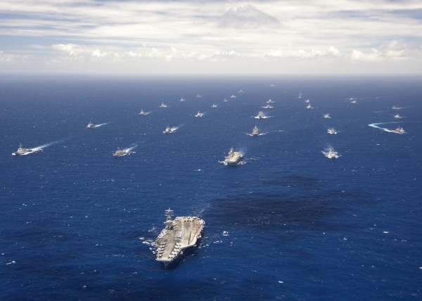 The Pacific Fleet RIMPAC 2012