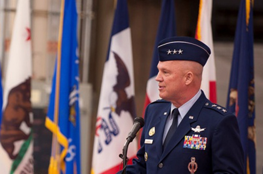 Lt. Gen. Raymond 14th Air Force