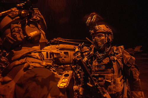 MARSOC guys on MEU